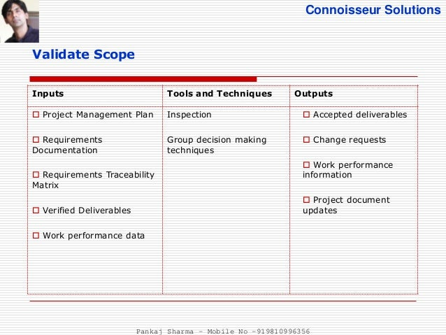 project management baseline plan example