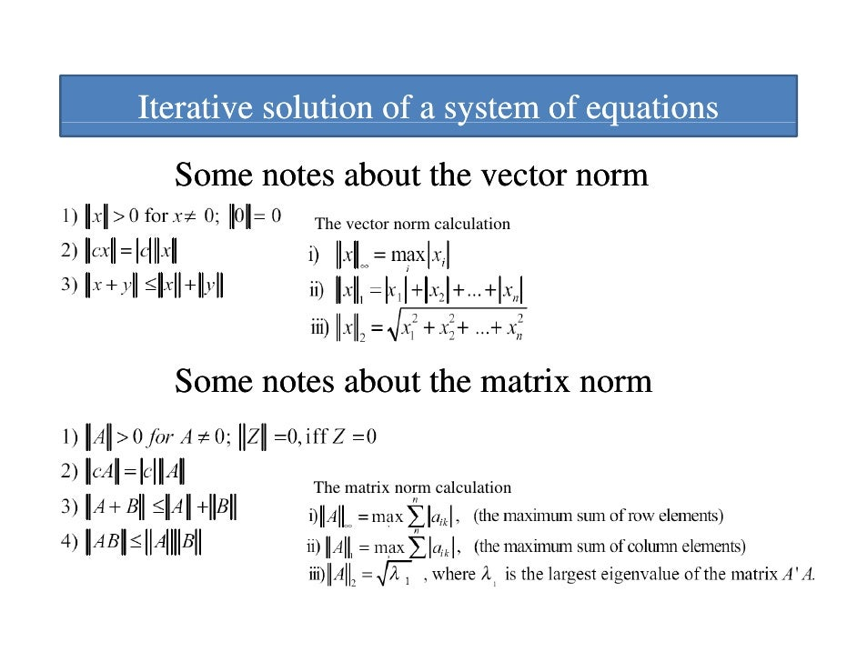 2 norm of a matrix example