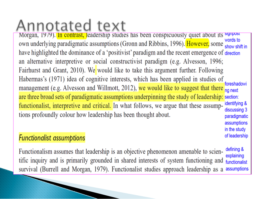 example of academic text article
