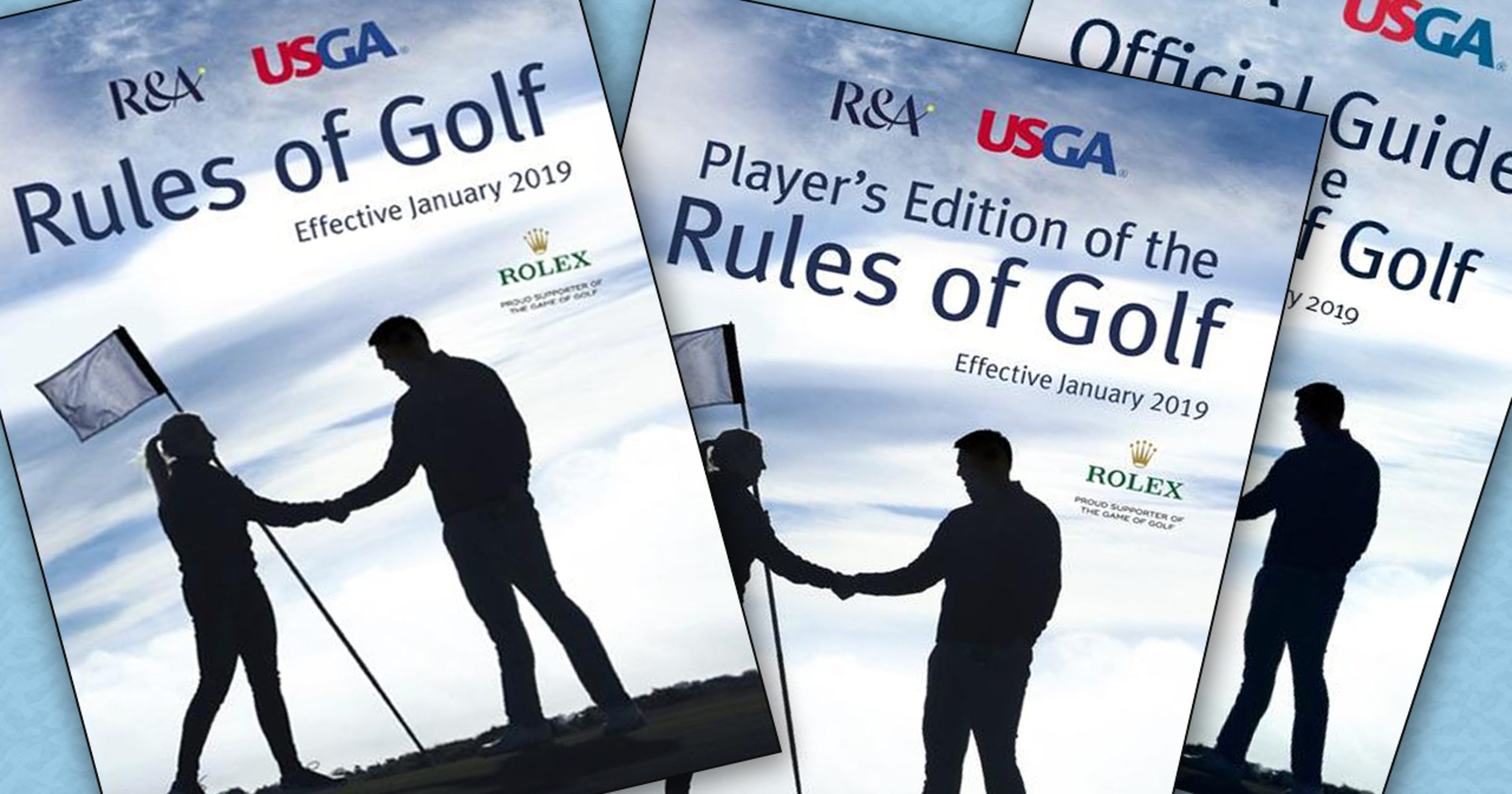 golf out of bounds rules example