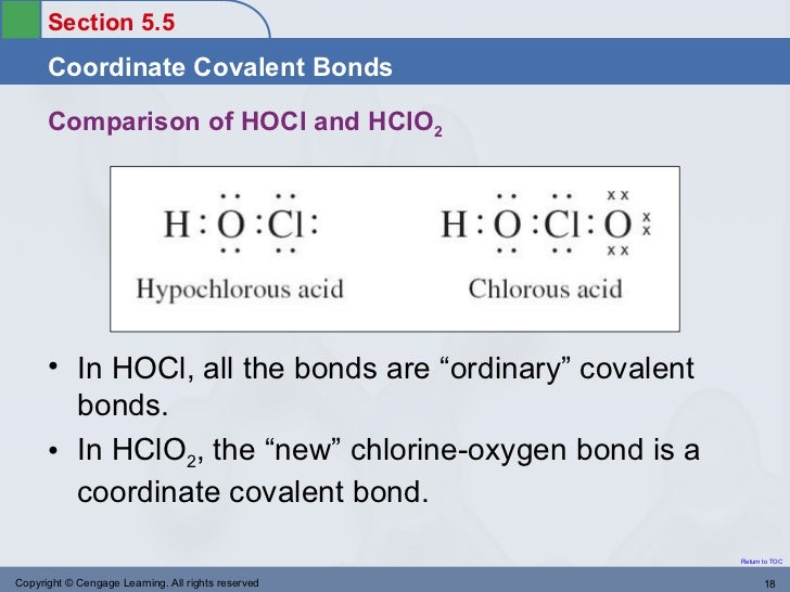 coordinate covalent bond lewis example