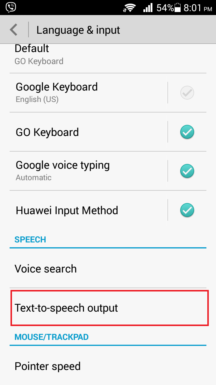 android text to speech example