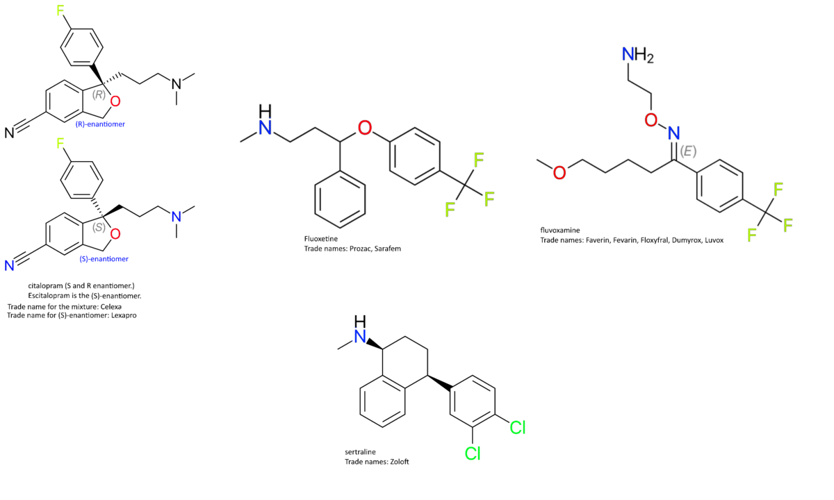 an example of a selective serotonin reuptake inhibitor ssri is