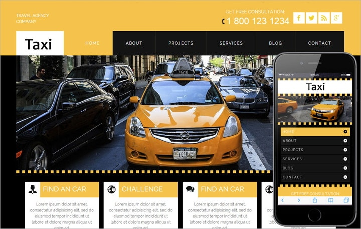 example for taxi service operation owner operator
