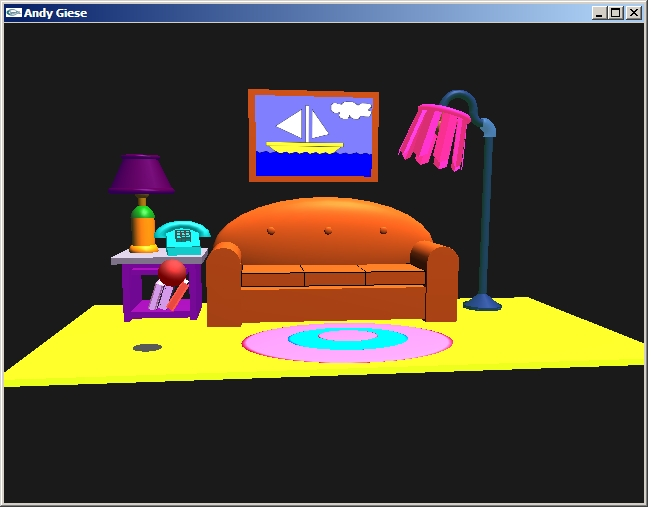 3d objects in opengl example