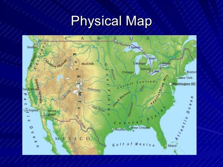 physical map definition and example