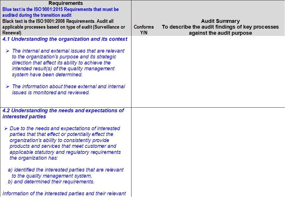iso 9001 2015 corrective action procedure example