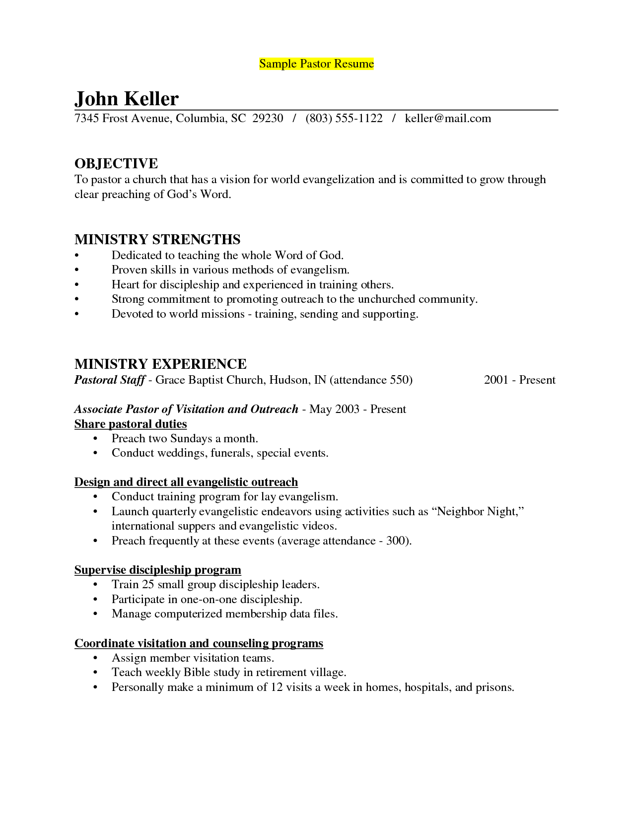 objective in a resume example teen