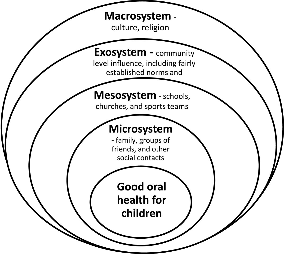 example of mesosystem in healthcare