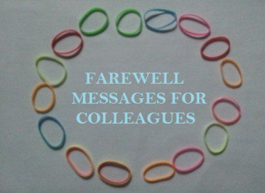 example message farewell to a collegue