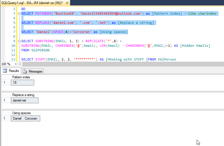 charindex example in sql server