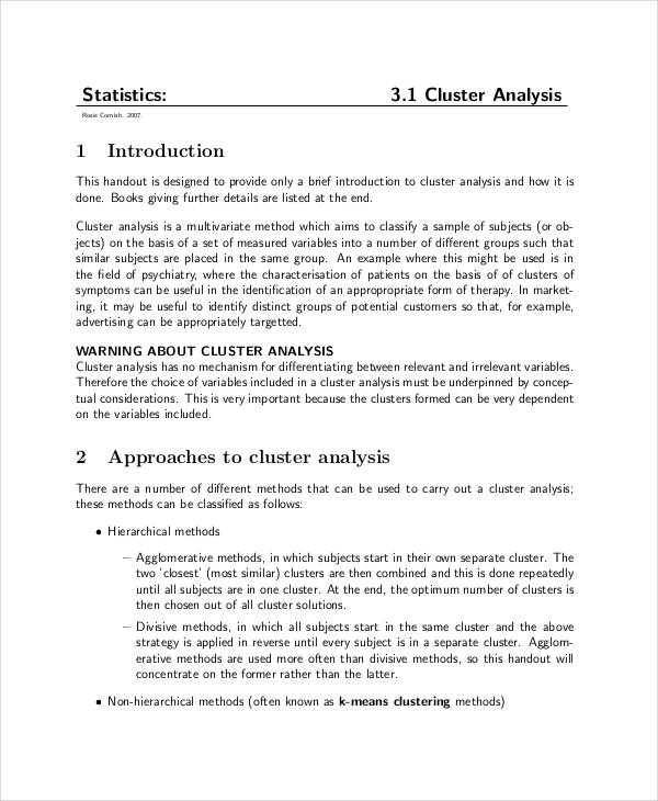 what is business statistics example