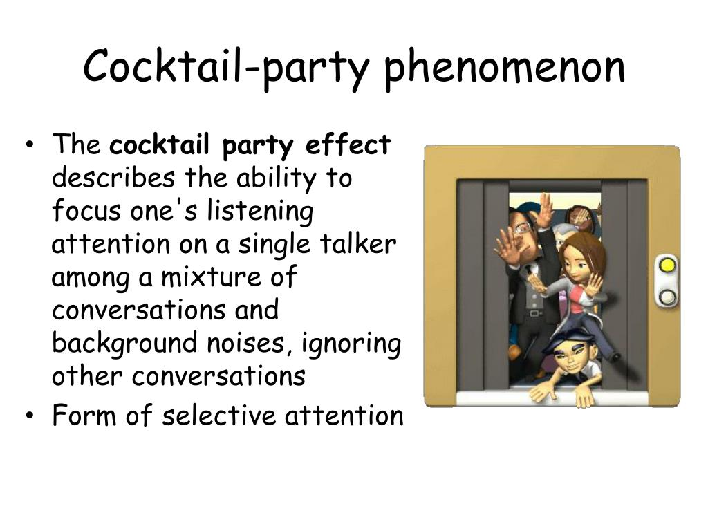 the cocktail-party effect is an example of __________ processing