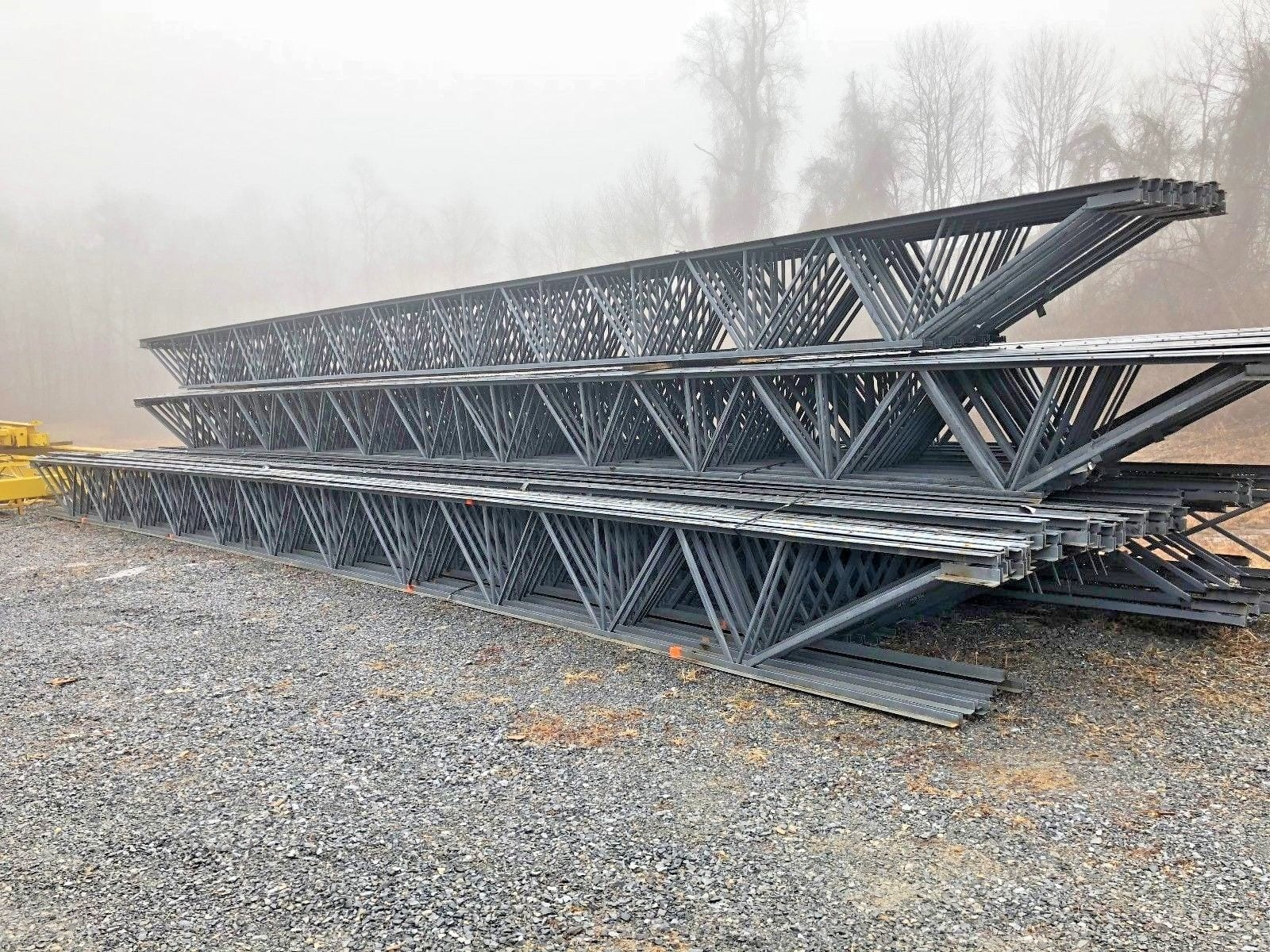 steel roof truss design example