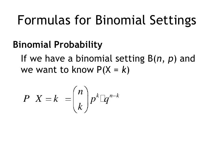 an example of a binomial