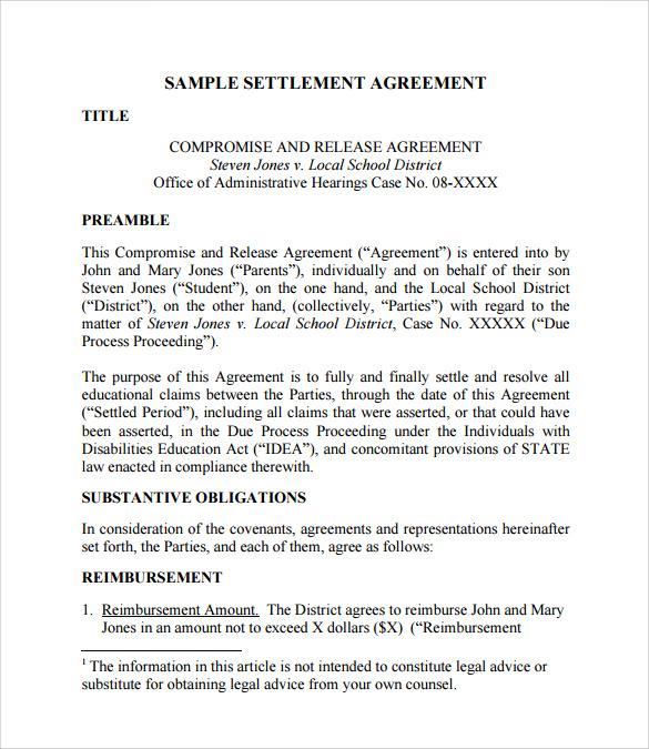 arbitration statement of claim example