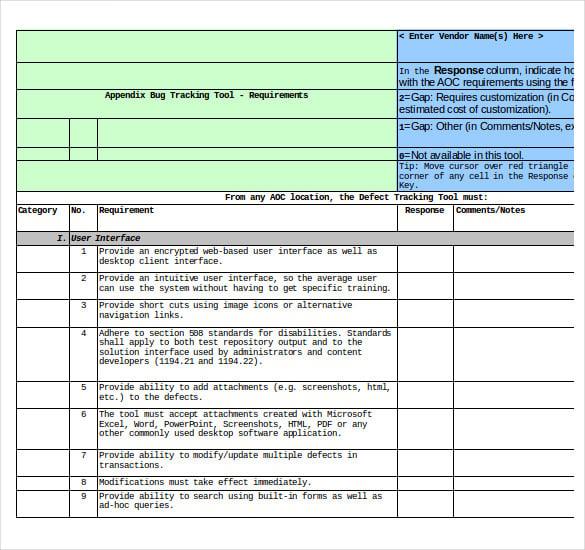 test plan document example pdf