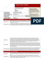 construction project charter example pdf