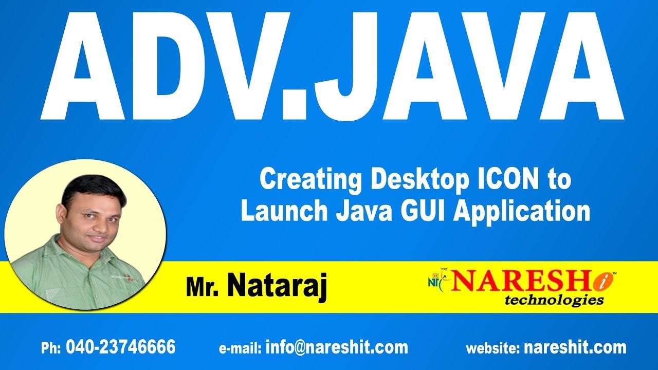 create java desktop application full example