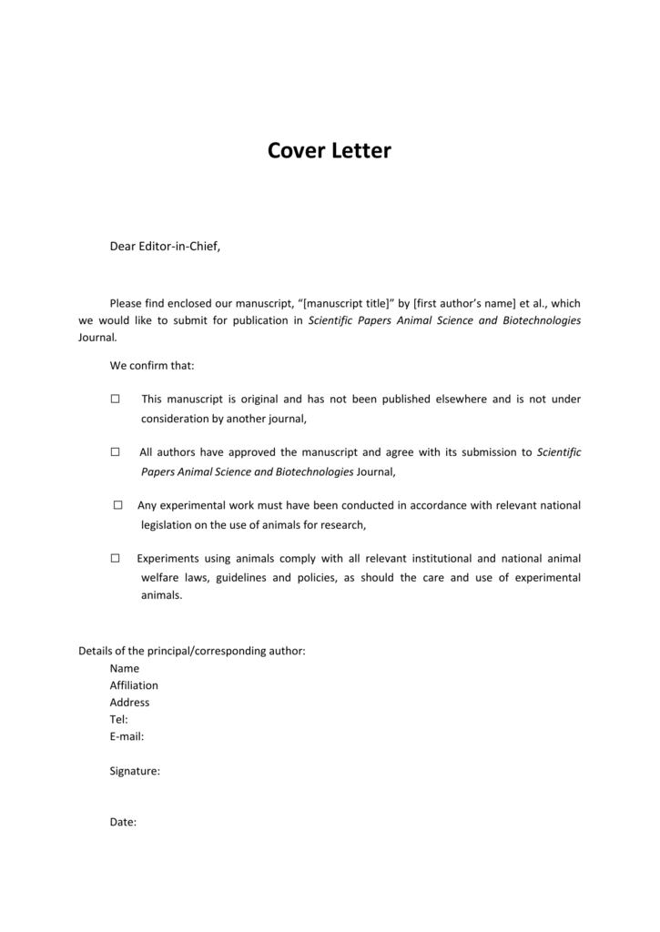 Essay cover letter examples