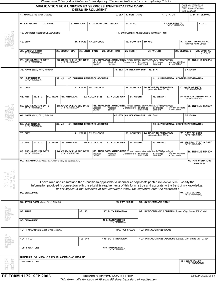 dd form 2977 example for pt
