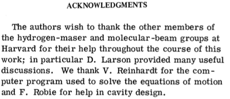 example of acknowledgement of research paper