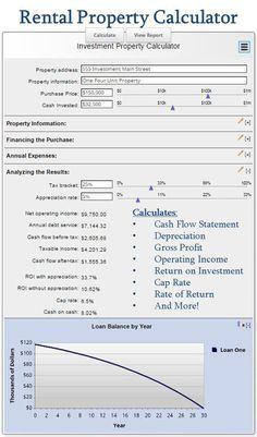 example of rental property depreciation