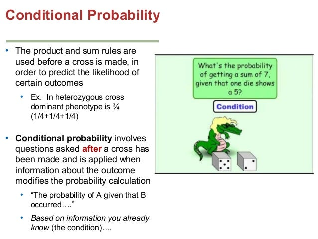 how to calculating conditional probability from joint probability with example