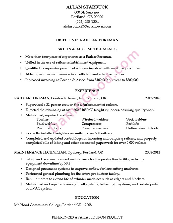 how to list education on resume example