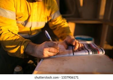 job safety analysis example site au