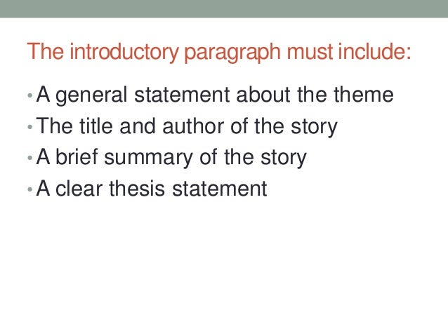 literary analysis introduction paragraph example