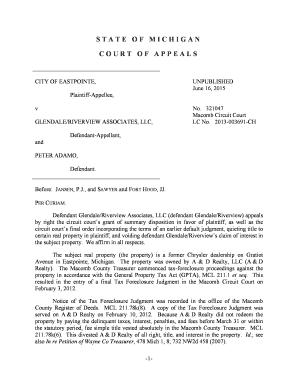 michigan quit claim deed example
