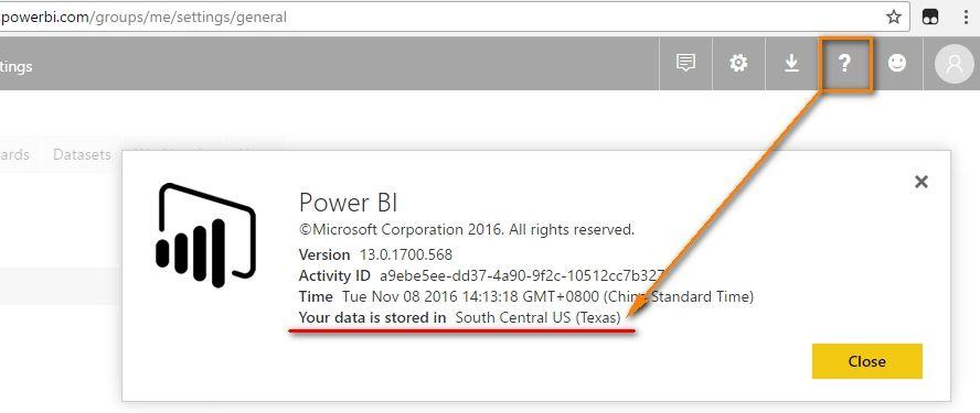 power bi publish to web example