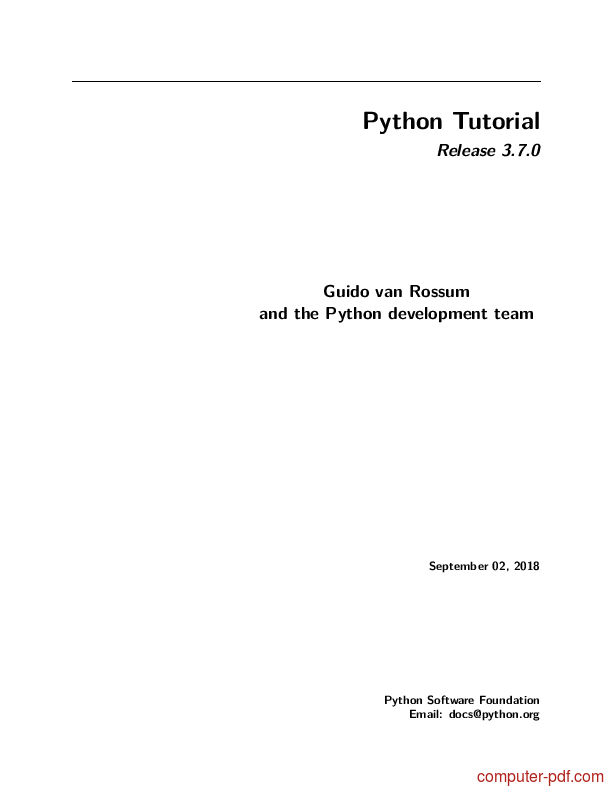 python standard library by example pdf