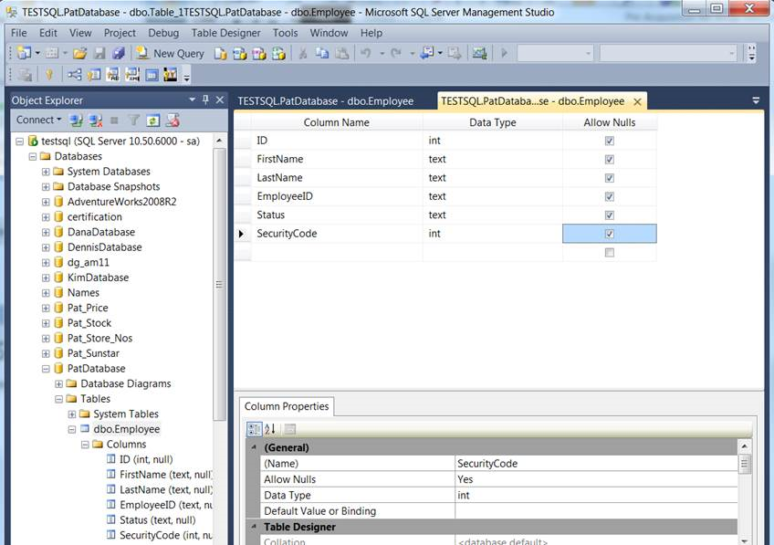 sql server create stored procedure example