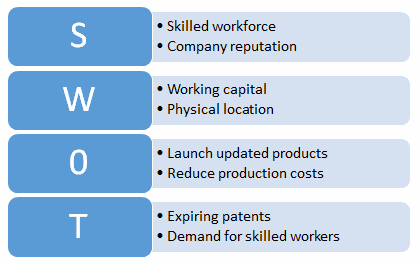 swot analysis risk management plan example